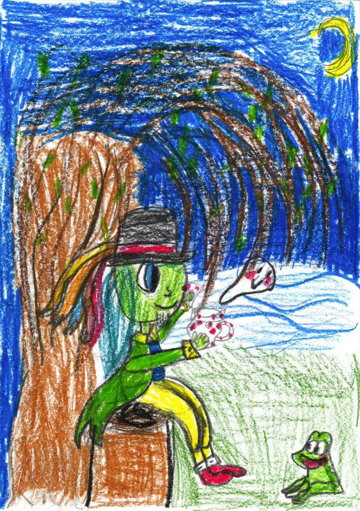 Vodník. Barbora, 10 let.