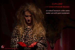 Jeden z plakátů kampaně Ukradená divočina.