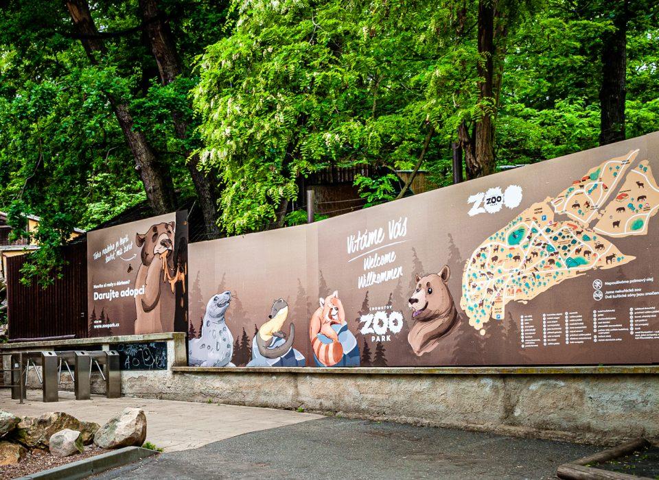 Zoopark Chomutov – dolní vstup
