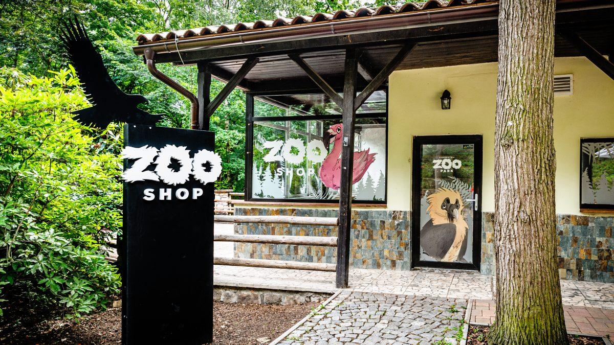 Zooshop se suvenýry