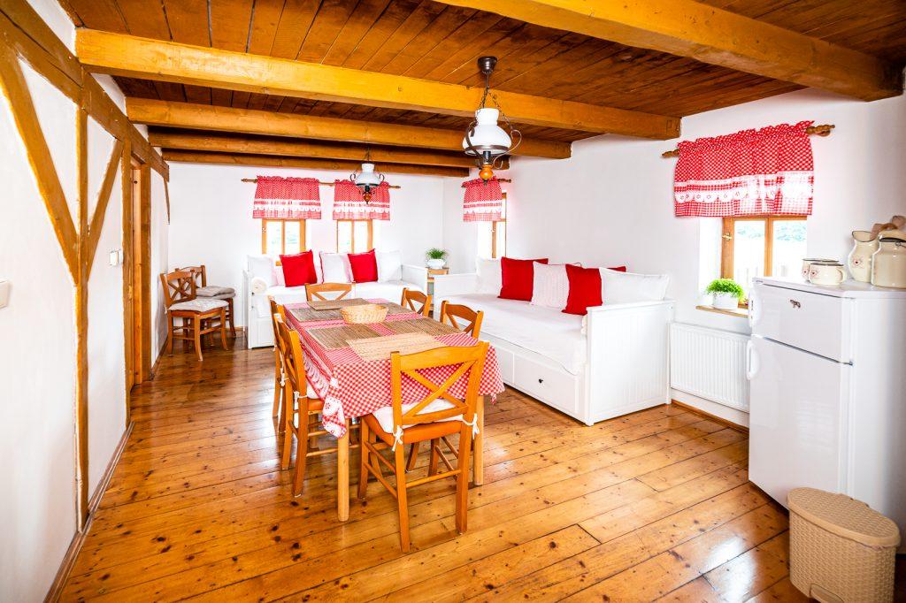 Apartmán – kuchyň s jídelnou