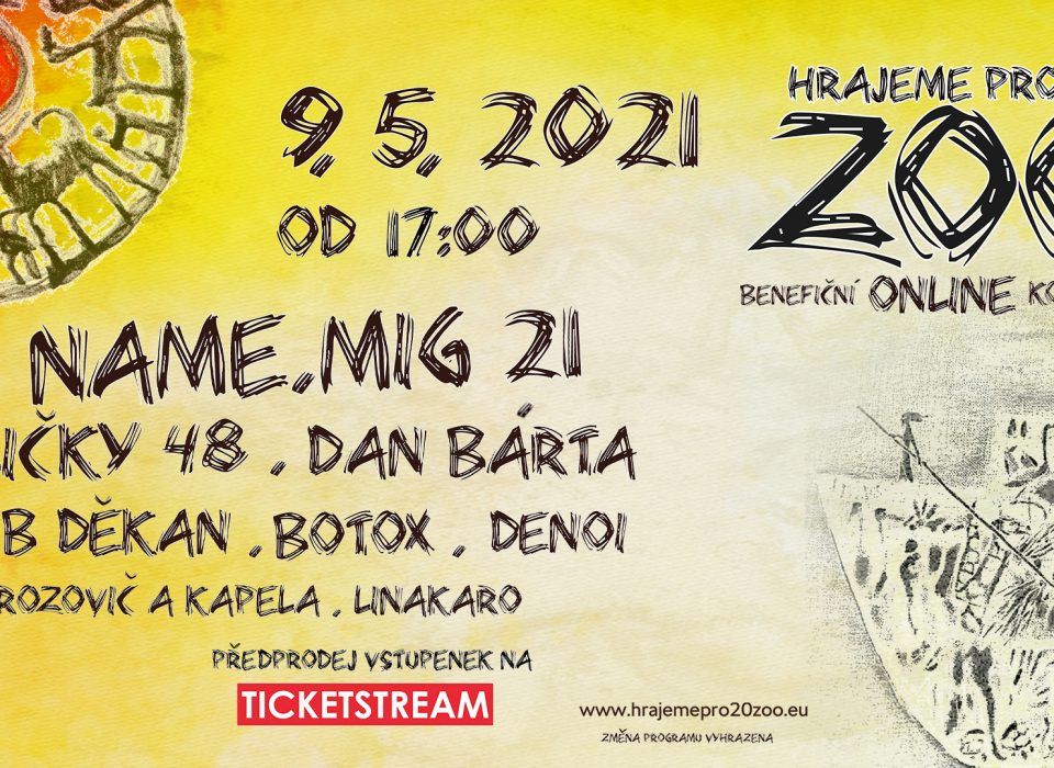 Koncert pro 20 zoo